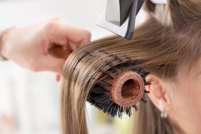 hair dry blow dry dyson
